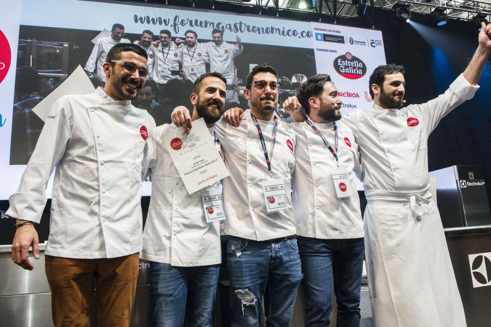 premio cocinero del año gallego