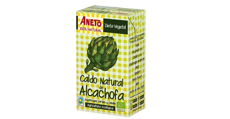 Caldo de alcachofa Aneto
