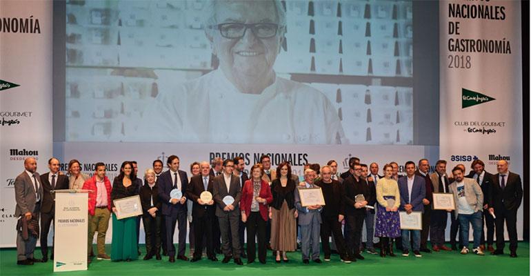 Premios nacionales de gastronomía 2