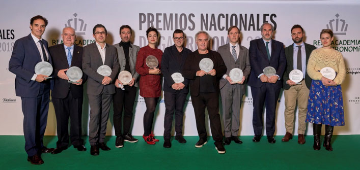 Premios Nacionales de Gastronomía 2018