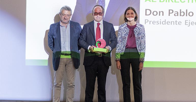 Pablo Juantegui recoge premio de restauración organizada