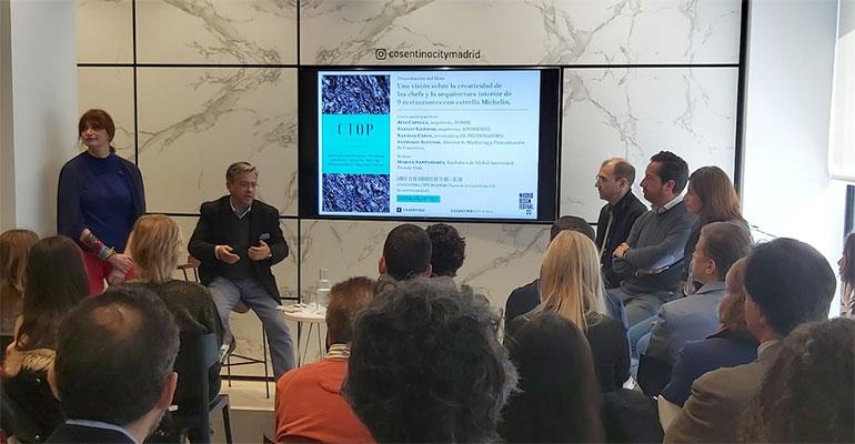 Cosentino presenta C-Top Restaurants, un libro con los proyectos de los estrella Michelin