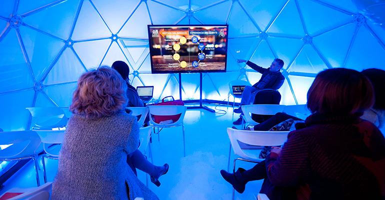 Presentación proyecto digitalizaicón de Makro en Madrid Fusión