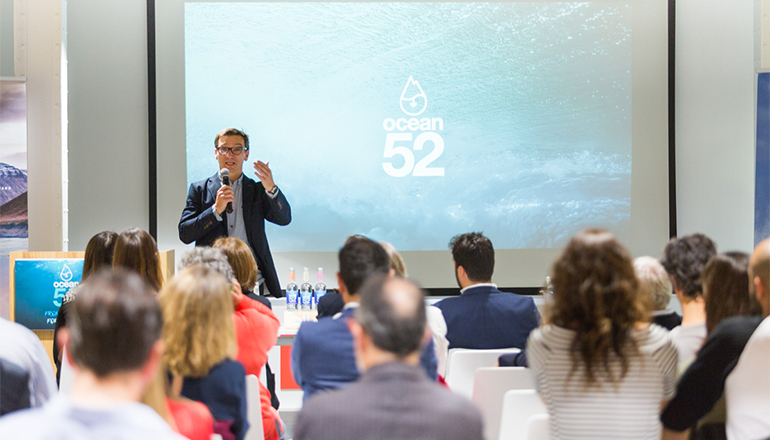Santi Mier, fundador y director general de Ocean52