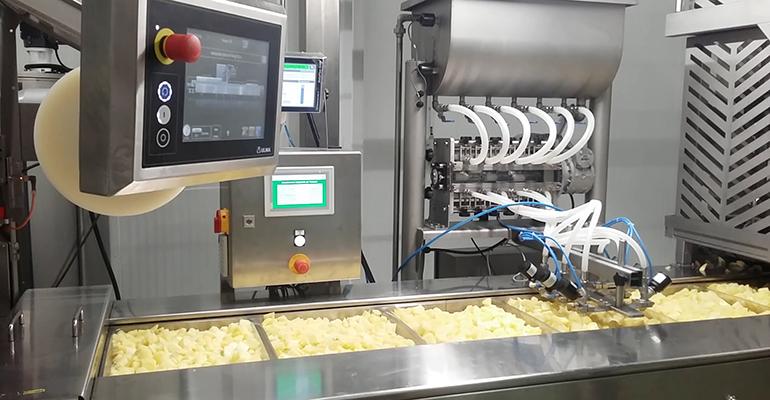 Paturpat fábrica de patatas