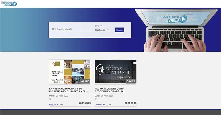 Profesionalwebinar.com, el calendario de webinars profesionales para estar al día