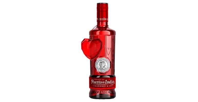 Puerto de Indias gin san valentín