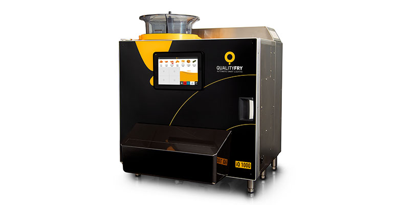 Freidora profesional con capacidad de 10 litros que produce más con menos consumo