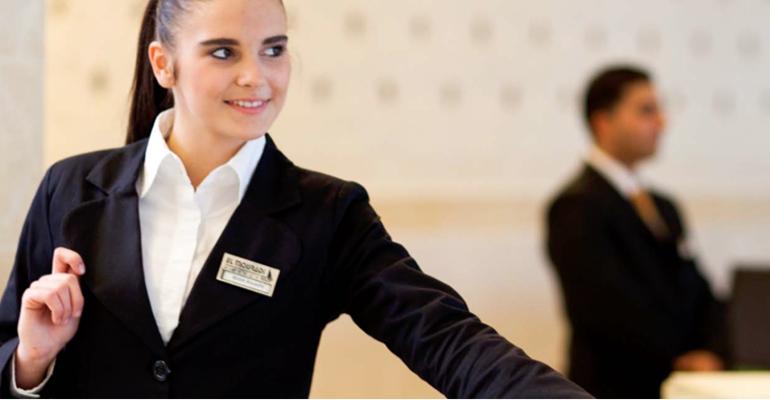 Recepcionistas hotel