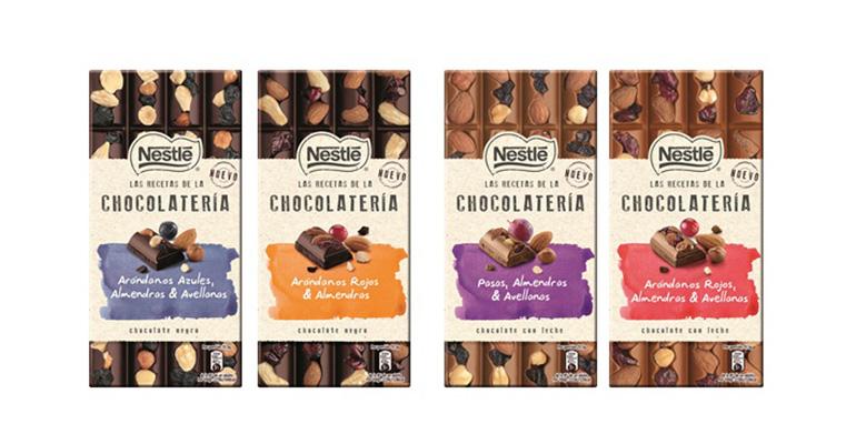 Recetas chocolatería nestlé