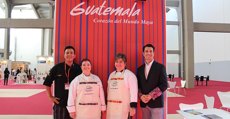 Representación de Guatemala en el Encuentro de Chefs Iberoamericanos