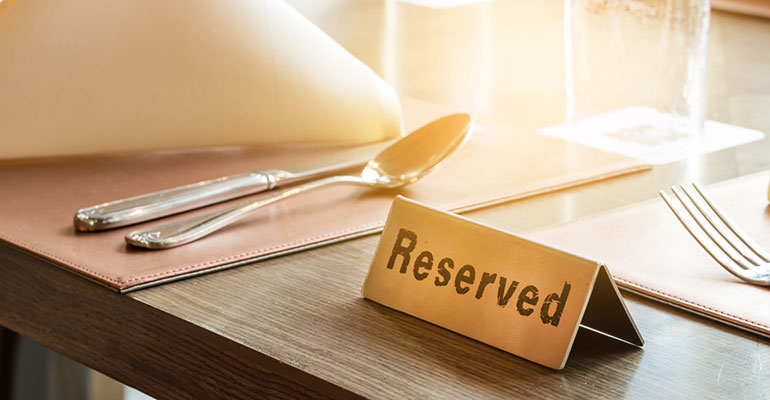 Reserva mesa restaurante