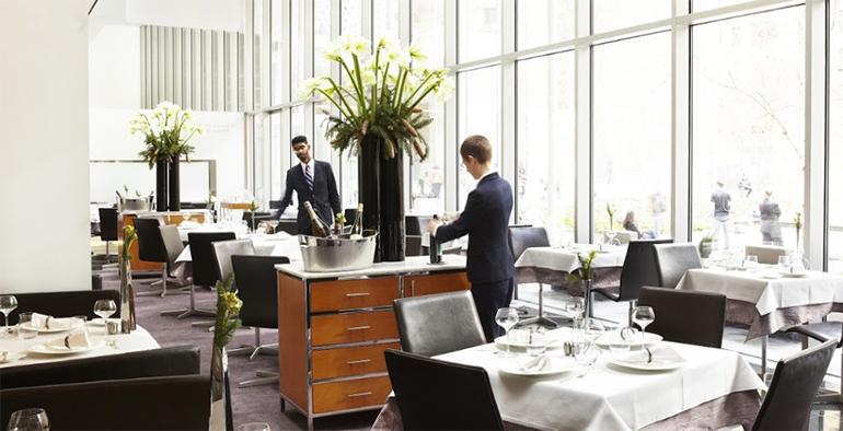 restaurante The Modern en el centro de Nueva York
