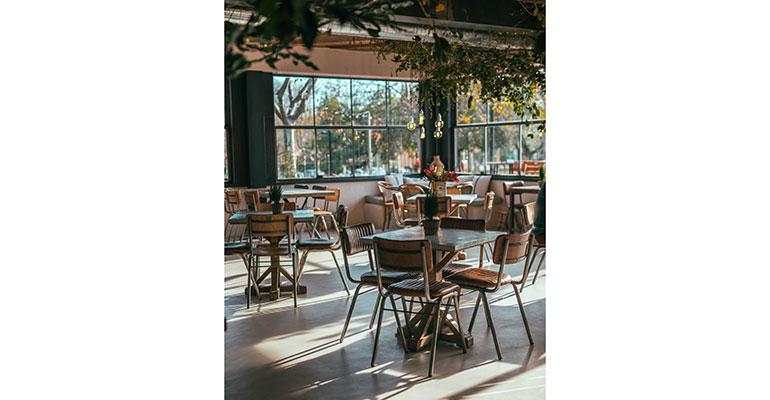 restaurante el kiosko interior