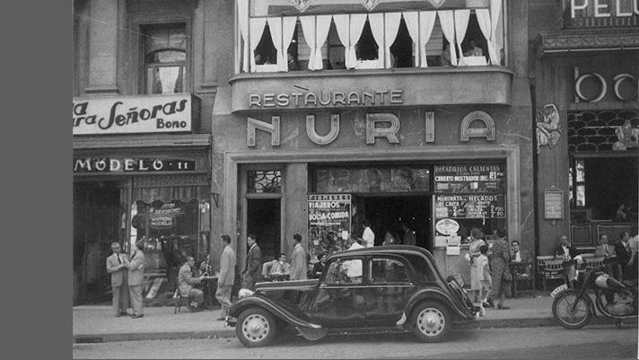 Restaurante Núria: historia de Las Ramblas