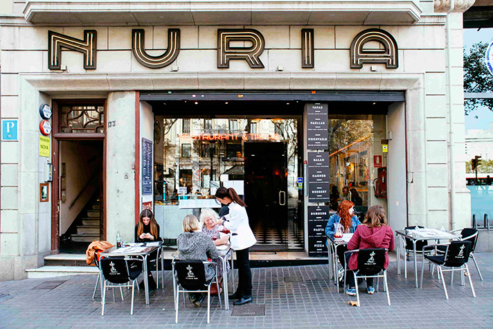 restaurante nuria barcelona actual