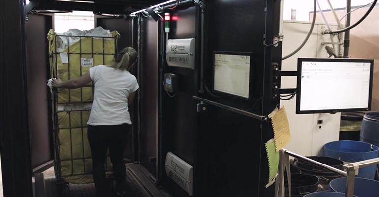 sistema RFID, implantado en su lavandería