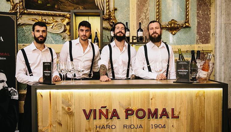 La barra de Viña Pomal viaja por cuatro ciudades este mes