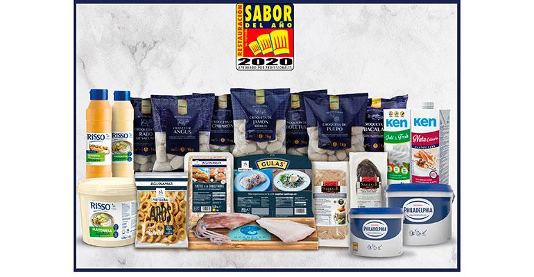 El premio Sabor del Año restauración elige los mejores productos para los chefs