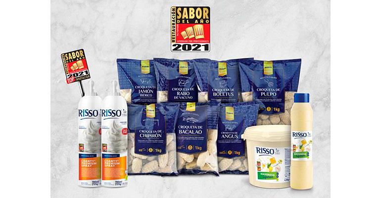 Makro y Risso se alzan con el sello Sabor del Año Restauración 2021