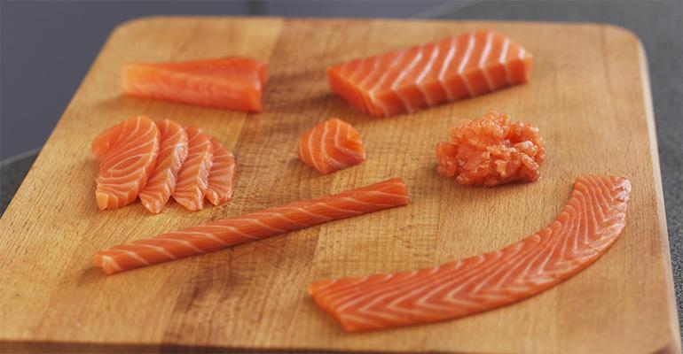 Las ventas del salmón noruego crecen un 3,8%