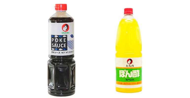 Salsas ponzu y poke: dos aderezos japoneses para acompañar tus recetas