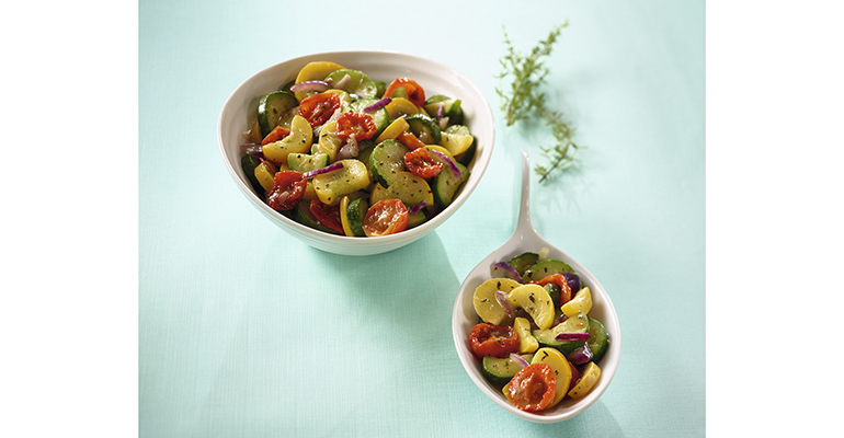 Salteado de verduras a la provenzal, receta de Davigel