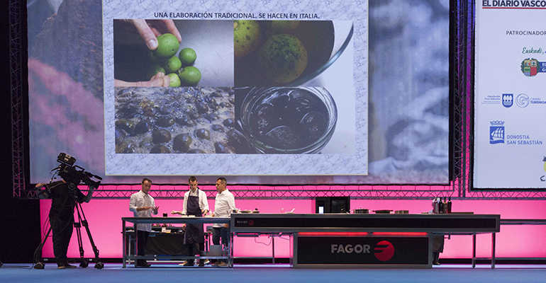 Cocina de Fagor Industrial en San Sebastián Gastronomika