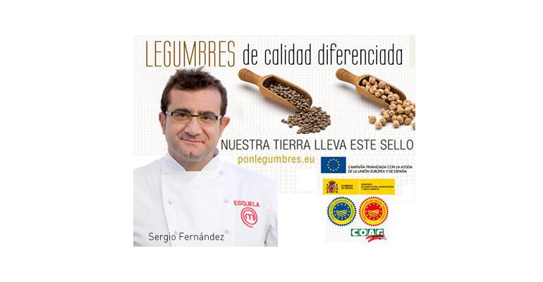Chef Sergio Fernández - uso legumbres en la cocina