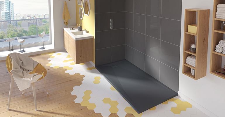 Platos de ducha ultrafinos Grandform SLIM