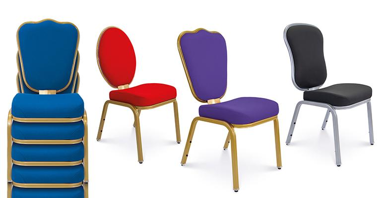 Confort, calidad y funcionalidad para unas sillas que responden a los esfuerzos de forma elástica y progresiva