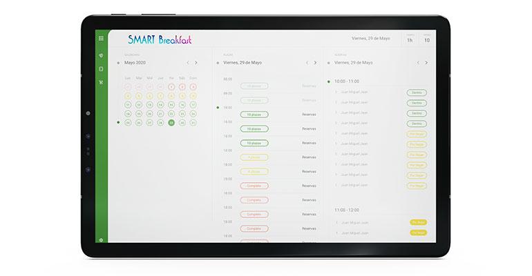 smart breakfast tablet