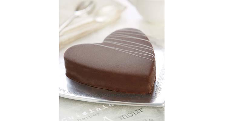 Tarta corazón chocolate berlys