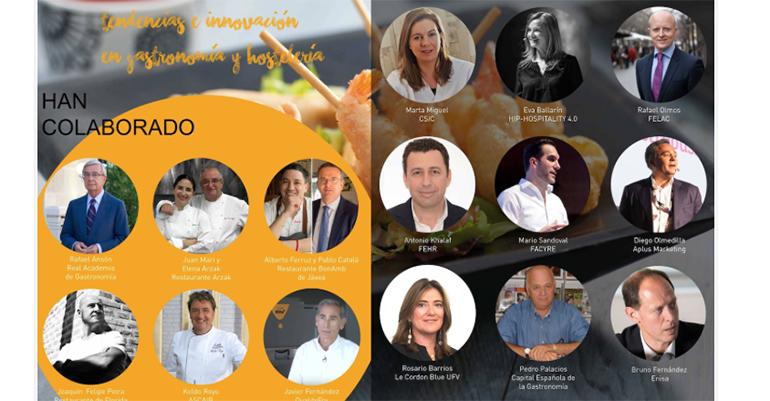 Participandes del informe sobre tendencias en gatronomía y hostelería