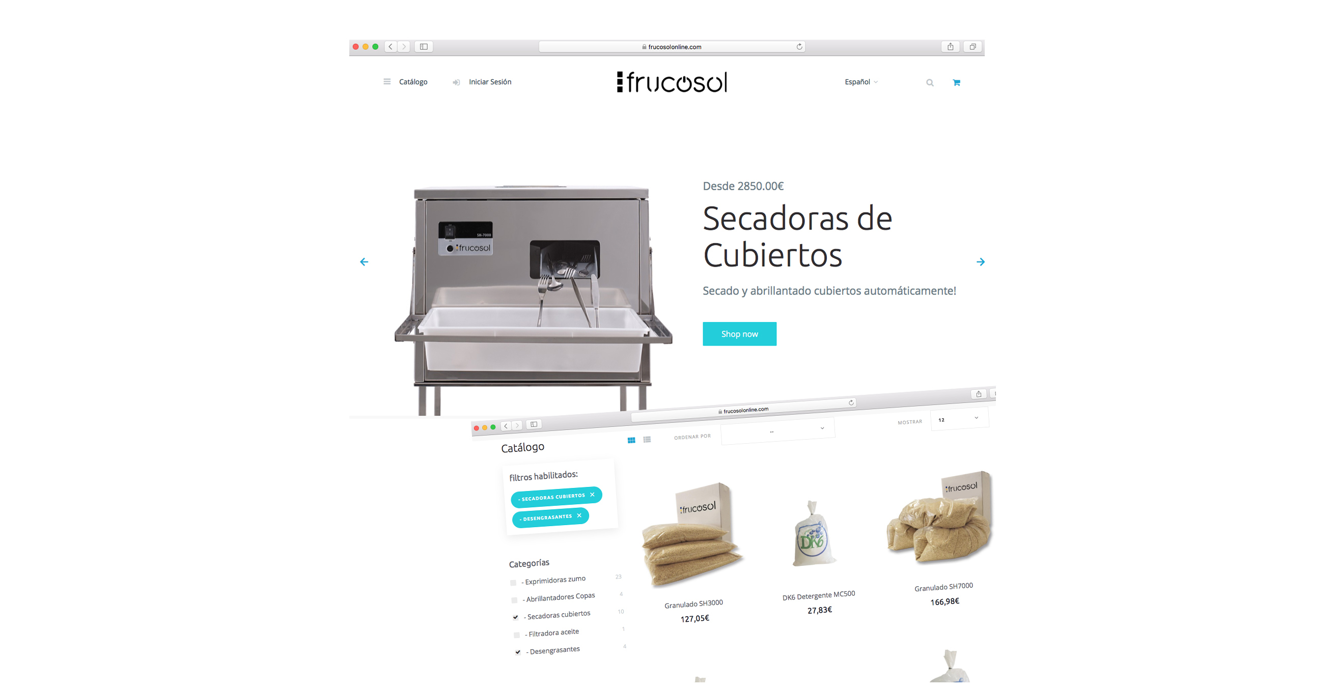 Nueva tienda online de Frucosol