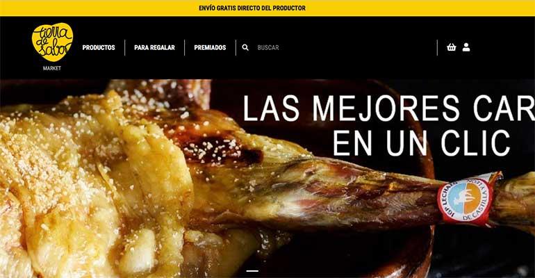 Tierra de Sabor lanza su tienda online