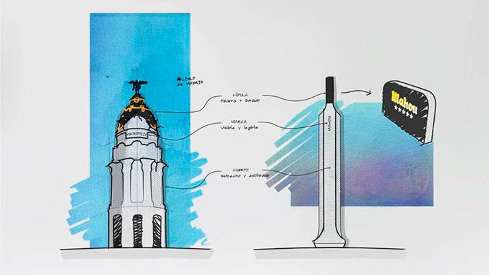 diseño tiradores metropolis mahou