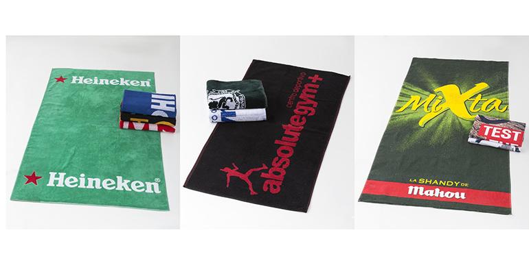 Toallas personalizadas para publicitar tu negocio