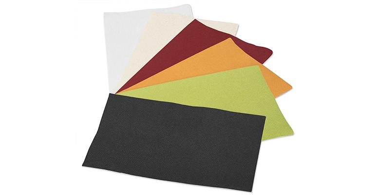 servilletas de colores tork