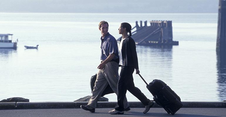 Turistas de cruceros