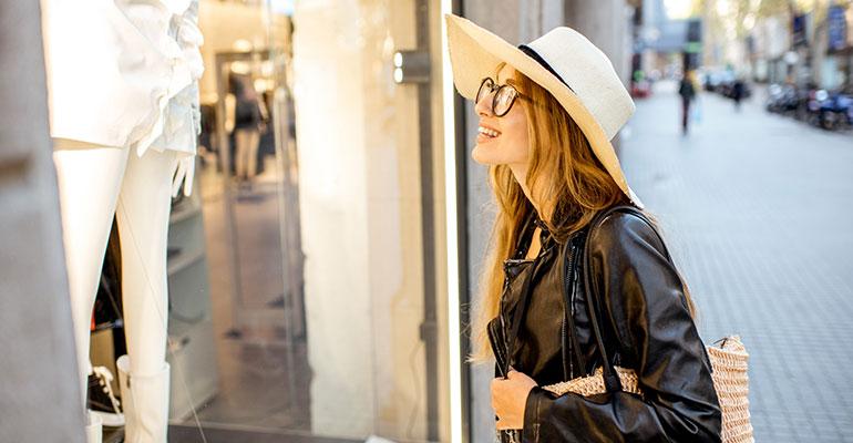 Turista de compras