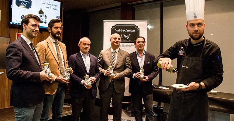 Presentación del nuevo Valdecuevas Chef, un Aove arbequina para cocineros