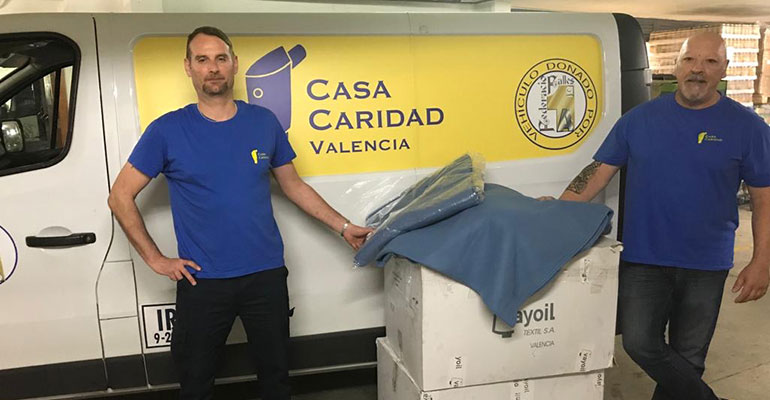Vayoil Textil Casa de la Caridad Valencia