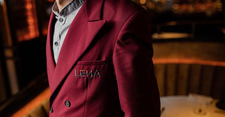 Vestuario restaurante Leña