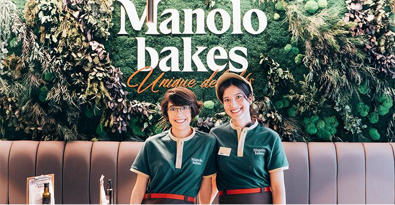 Nuevo uniforme del personal de Manolo Bakes