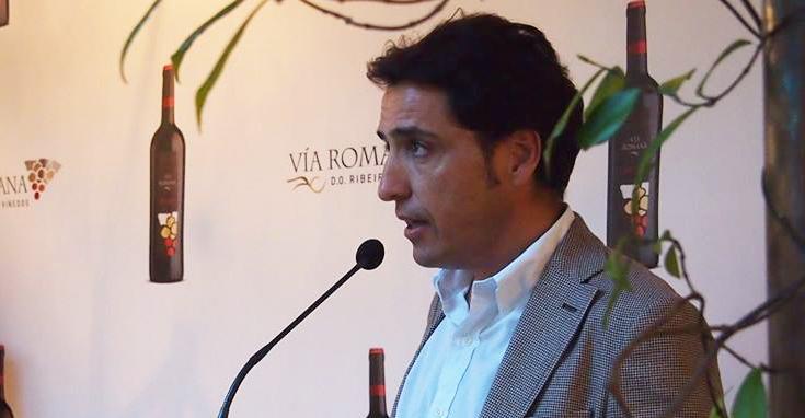 Juan Luis Méndez Rojo, director de la bodega Vía Romana