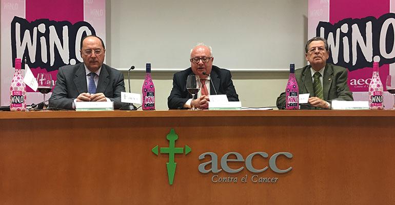 Presentación de los vinos sin alcohol contra el cáncer