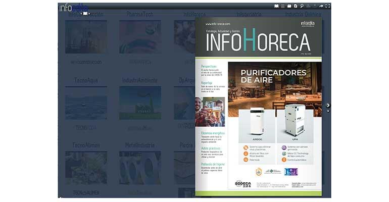 Estrenamos nuevo visor interactivo de InfoHoreca