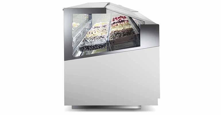 Vitrina de heladería 3D SHOW de ISA