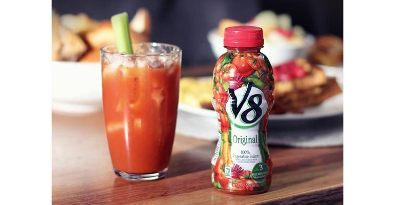 v8 bebidas vegetales